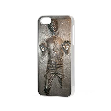 low priced 0ee95 e82b9 Star Wars Han Solo carbonite Iphone 7 2D not 3D white iphone case ...