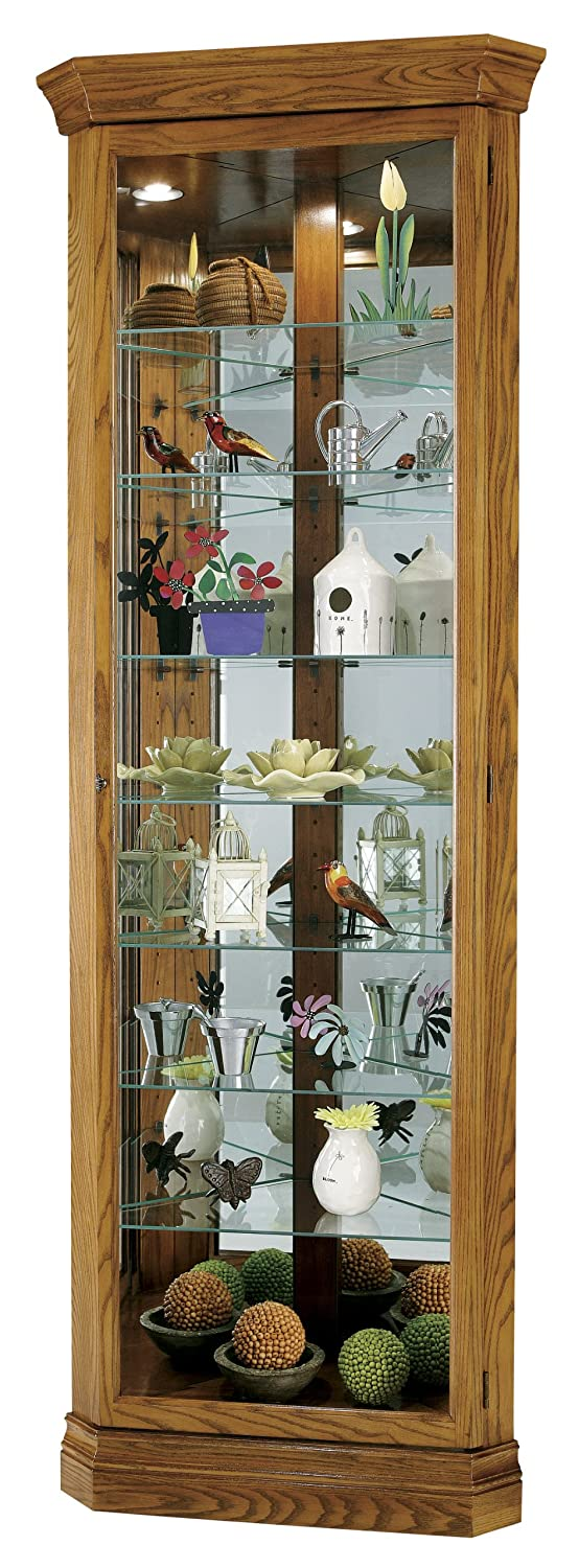 amazoncom howard miller dominic curio cabinet by kitchen u0026 dining