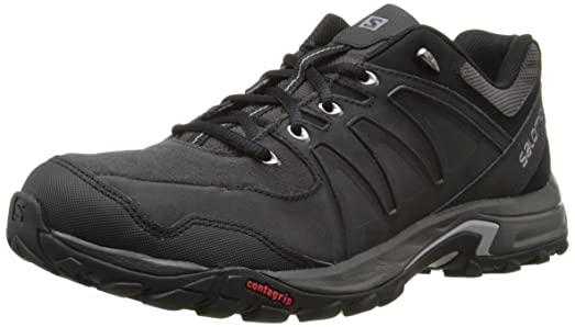 Salomon Men's Eskape LTR Multifunctional Hiking Shoe, Asphalt/Asphalt/Pewter,  11.5 M