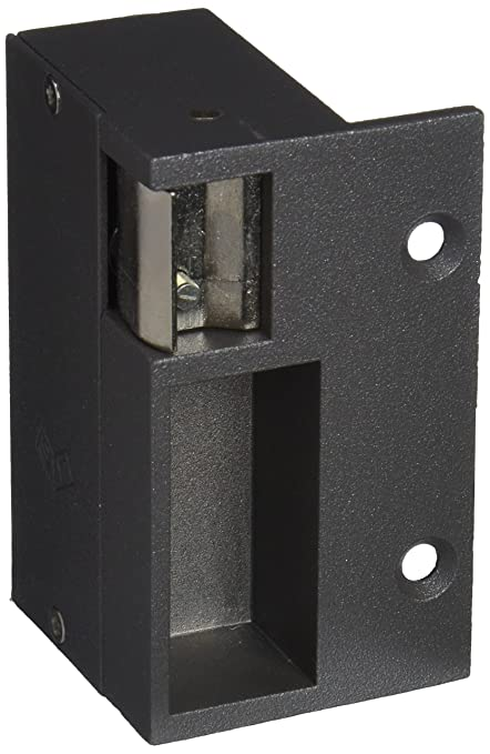 JIS 12 V 1035D - Cerradura izquierda sobreponer, color gris