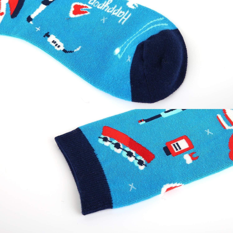 Funny Dental Tooth Dentist Gift Womens Novelty Crazy Teeth Tool Crew Socks