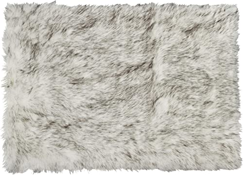 Luxe Thick Lush and Soft Pile 100 Animal-Free Hudson Sheepskin Faux Fur Area Rug