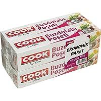 Cook Buzdolabı Poşeti 3+1 Ekonomik Paket Büyük Boy 30 x 45 cm