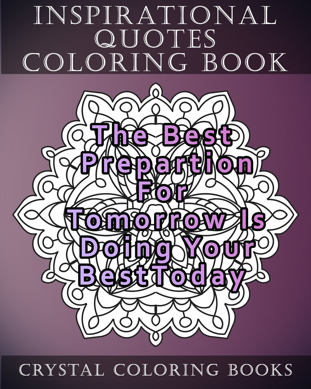 - Amazon.com: Inspirational Quotes Coloring Book: 20 Inspirational