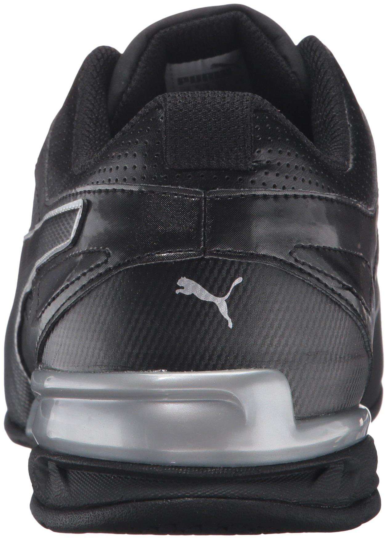 PUMA Men's Tazon 6 FM Puma Black/ Puma Silver Running Shoe - 8 D(M) US by PUMA (Image #2)