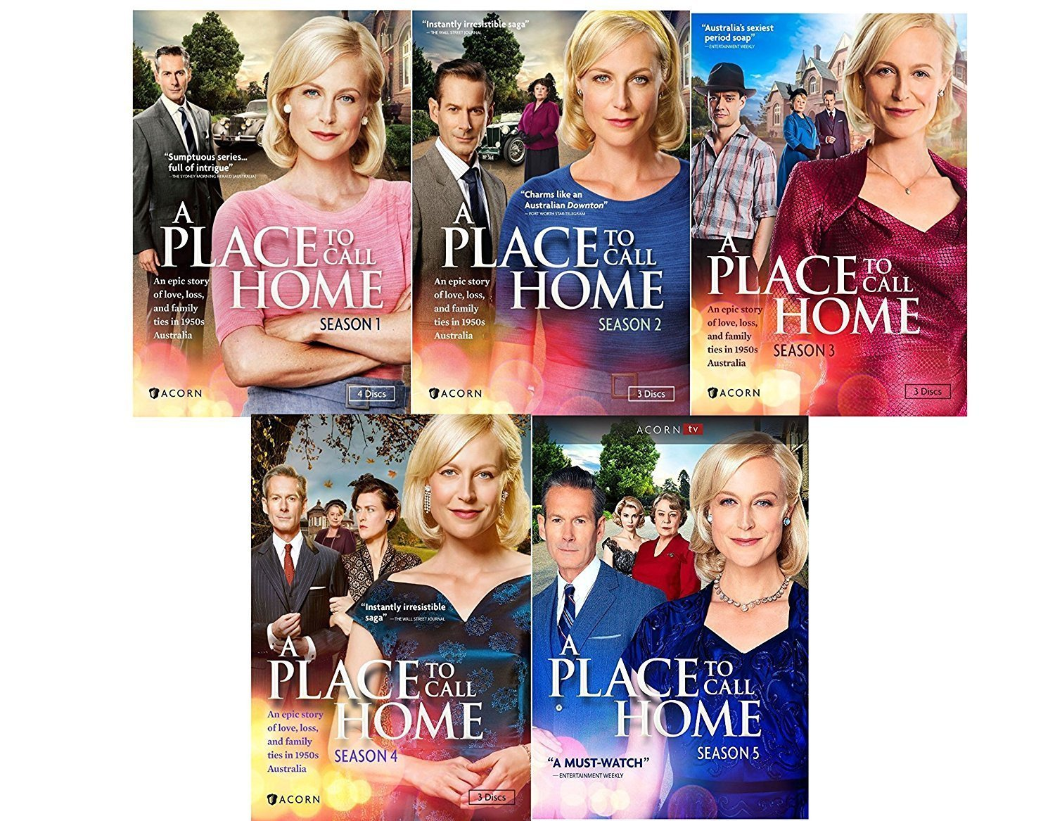 Studio1 A Place To Call Home: The Complete Series Seasons 1-5 DVD