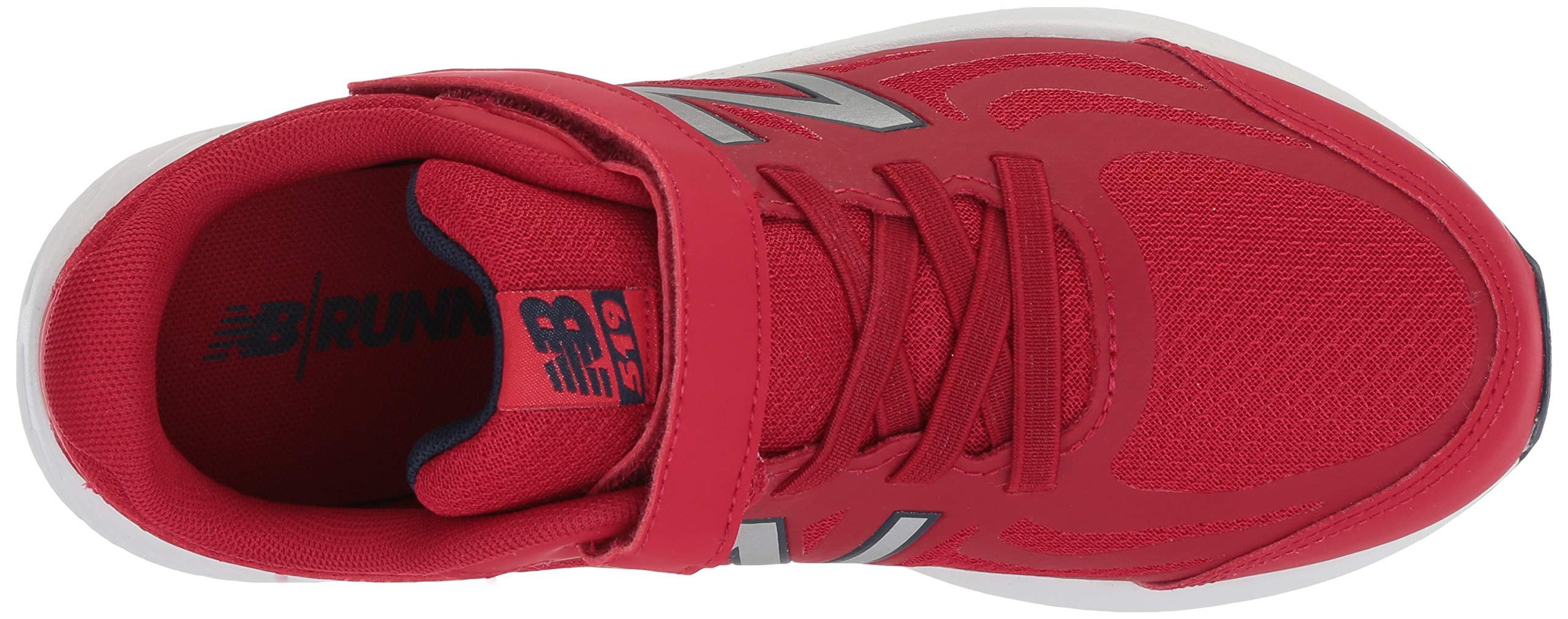 New Balance Boys' 519v1 Hook and Loop Running Shoe, Chili Pepper/Nubuck Scarlet, 2 M US Infant by New Balance (Image #8)