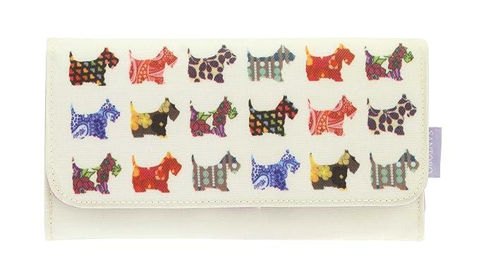 Santoro-London - Cartera para hombre Varios Colores Scottie Dogs: Amazon.es: Ropa y accesorios
