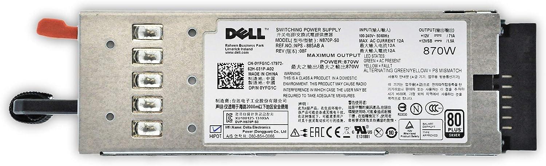 Yfg1c Dell Dell 870w Hot Plug Power Supply For Computer Zubehör