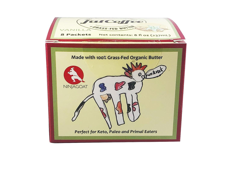 FatCoffee mocha 100% de hierba alimentada Ghee para alimentar su ...