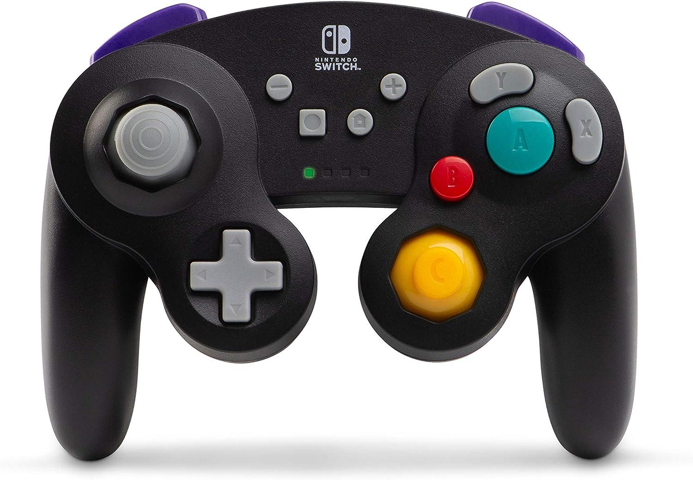 PowerA - Mando inalámbrico, Estilo GameCube Plateado (Nintendo Switch)