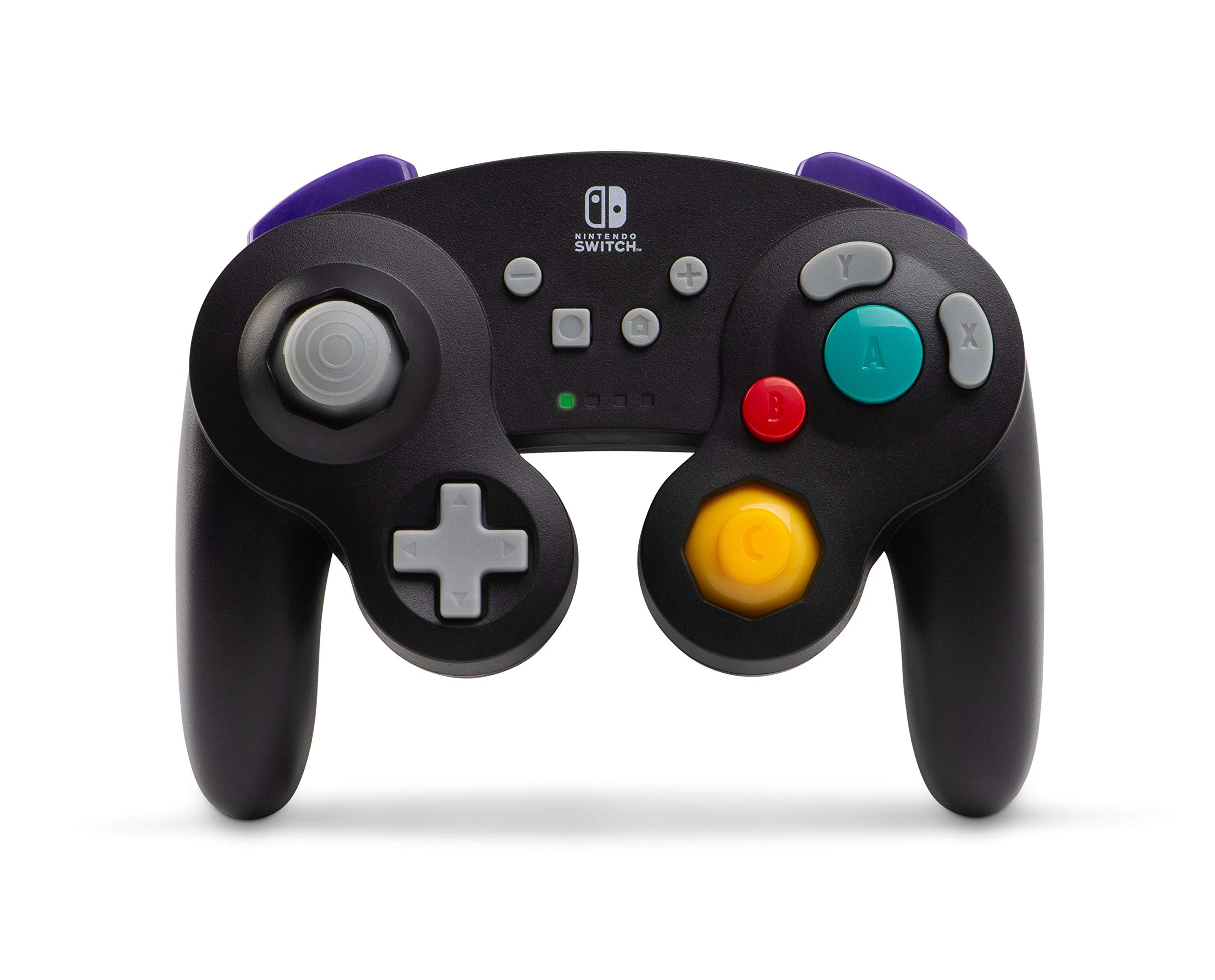 PowerA Wireless GameCube Style Controller for Nintendo Switch - Black