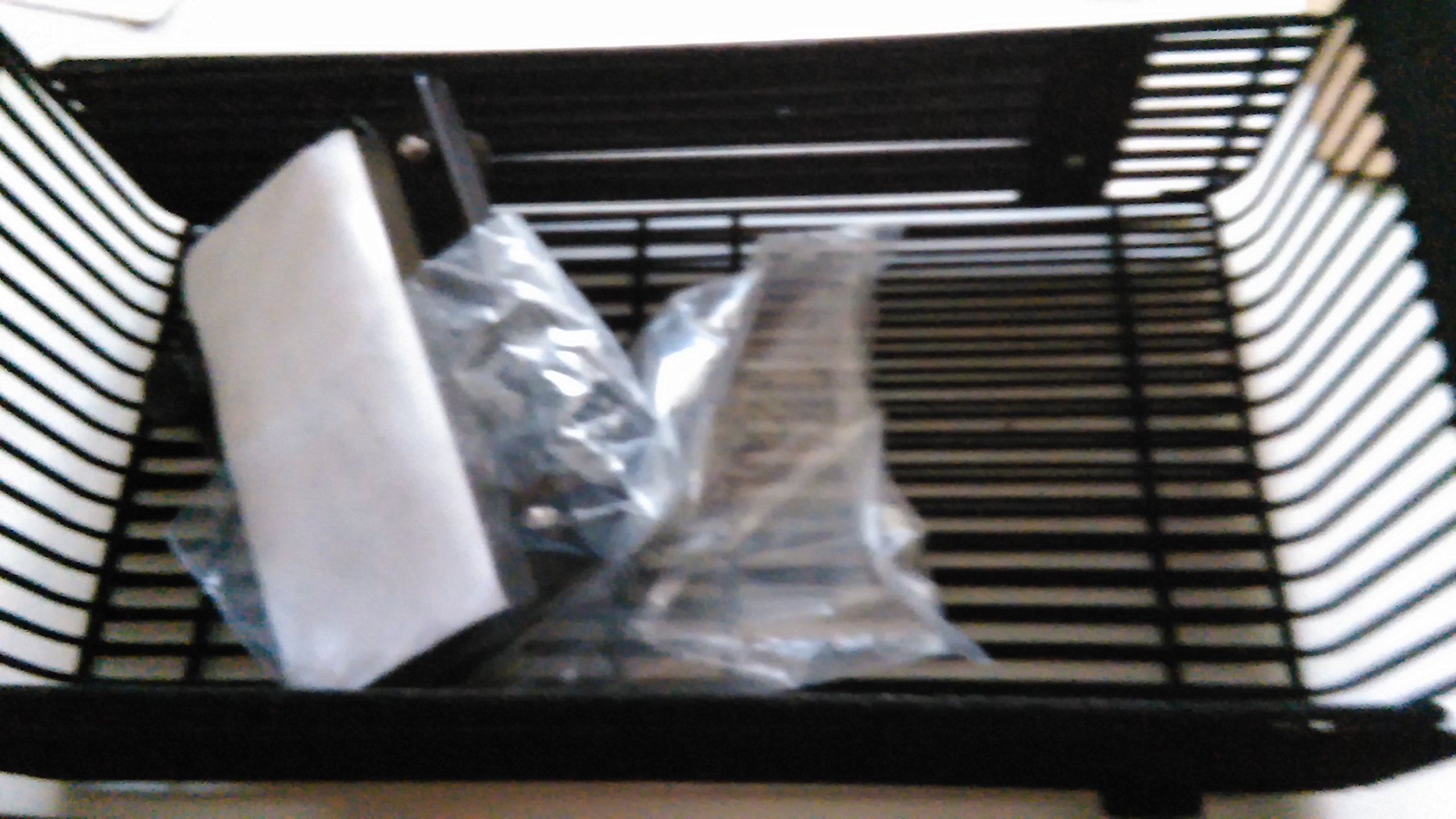 Retractable outlet guard for fan heater [NFG3055] Black