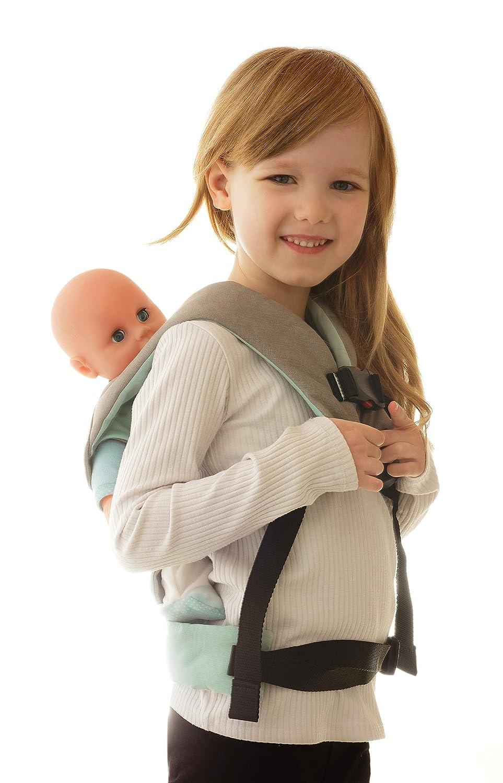 manduca Puppentrage Doll Carrier   Puppen-Babytrage f/ür das Tragen von Babypuppe /& Stofftier vorne und auf dem R/ücken Limited Edition, Starlets black Puppen-Zubeh/ör f/ür Kleinkinder ab 18 Monate
