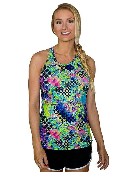 WoolX Mujer Ivy Entrenamiento Camiseta de Tirantes ...