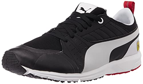 dafed93eda7e Unisex Pitlane SF Night Cat Black and White Sneakers - 9 UK  Buy Online at  Low Prices in India - Amazon.in
