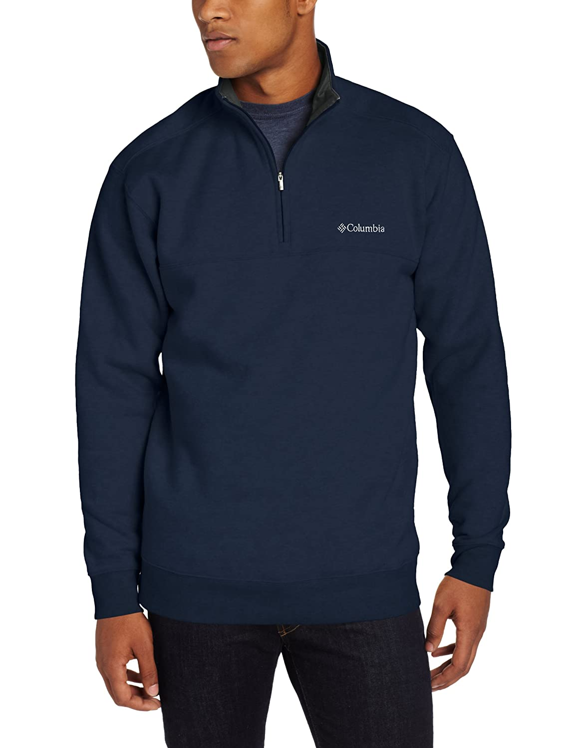 Columbia Men's Big Hart Mountain II Half Zip Columbia Men's Outerwear AS6771