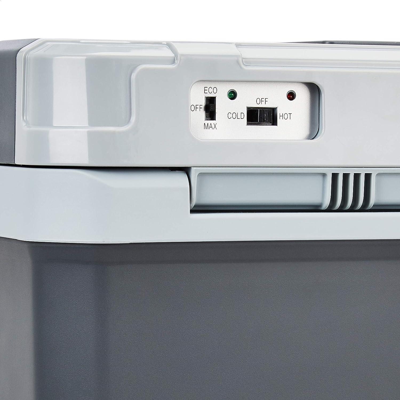 230V 12 V DC Basics Glaci/ère thermo/électrique de 26 litres avec fonctions de refroidissement et de r/échauffement version EU