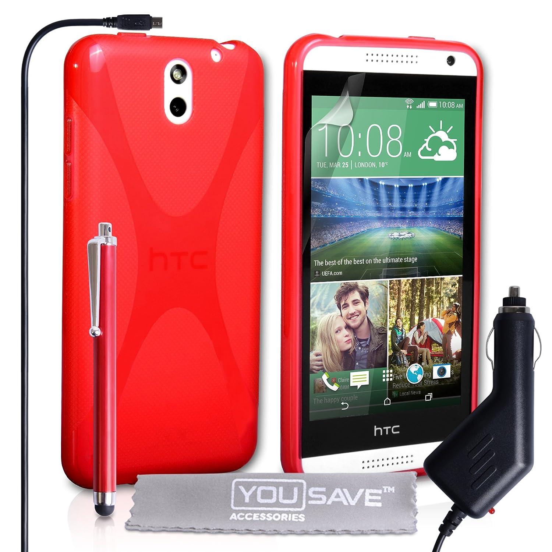 Yousave Accessories® X-Line - Carcasa de Silicona para HTC ...