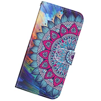 Funda Compatible con Xiaomi Redmi Note 8.Cuero Case Creativo ...