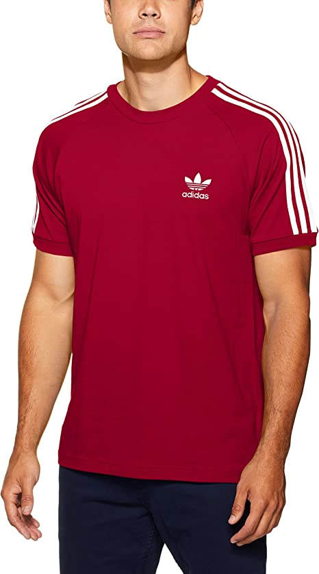 adidas Herren 3 Stripes T Shirt: : Bekleidung