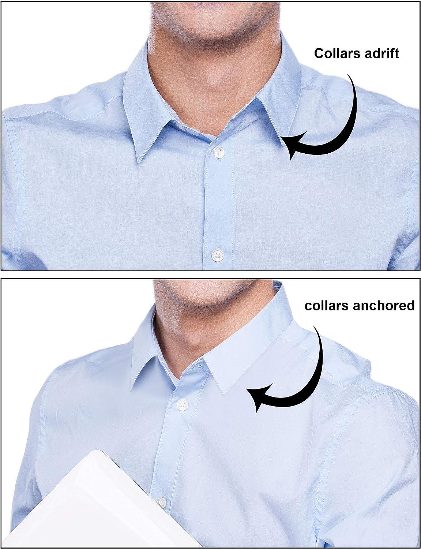 600 Piezas de Ballenas de Cuello de Camisa de Plástico para Camisas de Hombres, 6 Tamaños Mixtos (Transparente): Amazon.es: Hogar