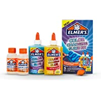 Elmer's Color Changing Slime Kit | Slime Supplies Include Elmer's Color Changing Glue, Elmer'S Magical Liquid Slime Activator, UV Light, 5 Piece Kit