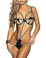 Sexy body modello Thalita collezione Feeling Good by MWS AHEAD (Nero)