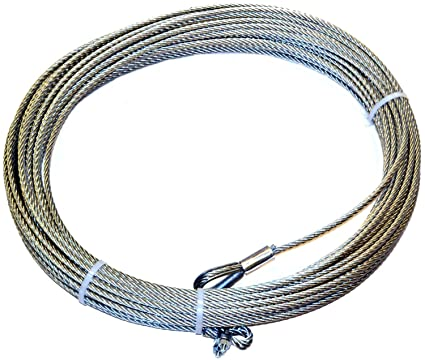 Amazon.com: WARN 38311 Wire Rope - 5/16 in. x 150 ft.: Automotive