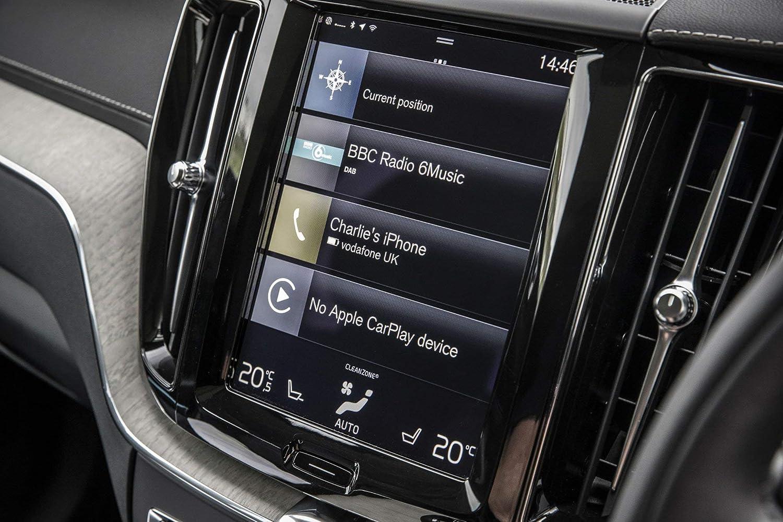 Screen Warden Protector de Pantalla de Cristal Templado para Sistema de navegación Volvo V90 / S90 / XC60 / XC90 / V90 Cross Country de 23 cm: Amazon.es: ...