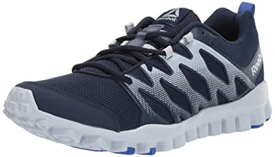 c9a9aac82d0e Reebok Men s Realflex Train 4.0 Sneaker Collegiate Navy Cloud gre 7.5 ...