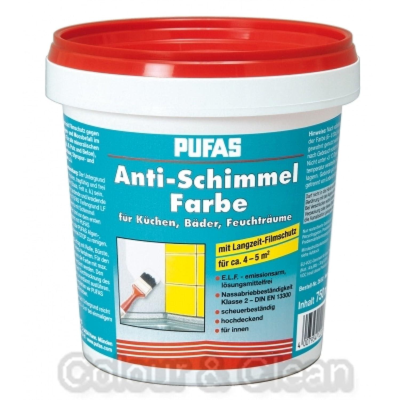 Pufas anti schimmel farbe 0750 l