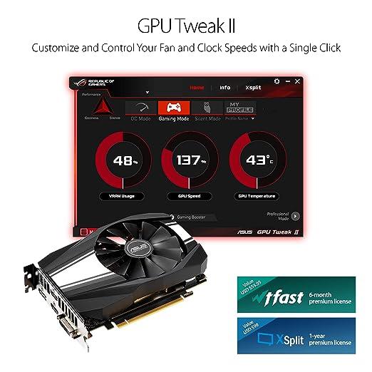 Amazon.com: ASUS GeForce RTX 2060 6GB Phoenix Fan Edition VR Ready HDMI DP DVI Graphics Card (Ph-RTX2060-6G): Computers & Accessories
