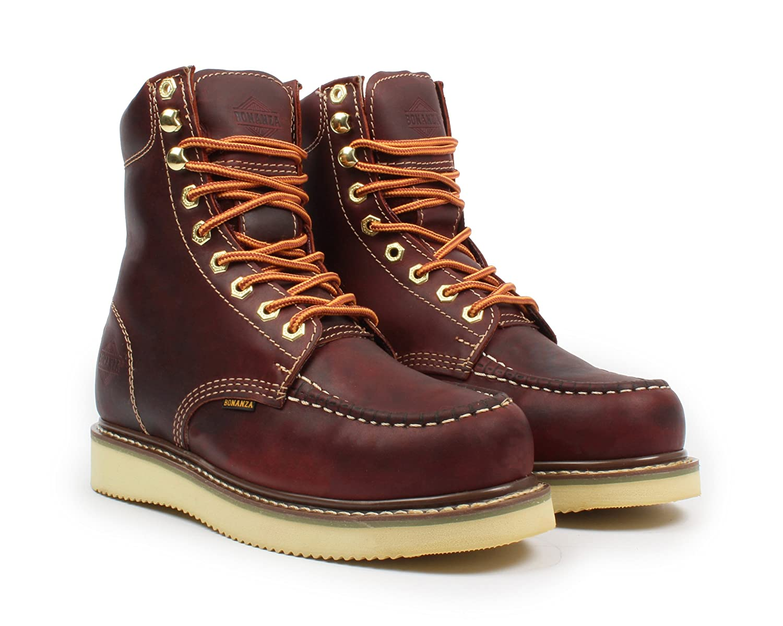 4ea2aac3b60 Bonanza Boots Goodyear Men's 8