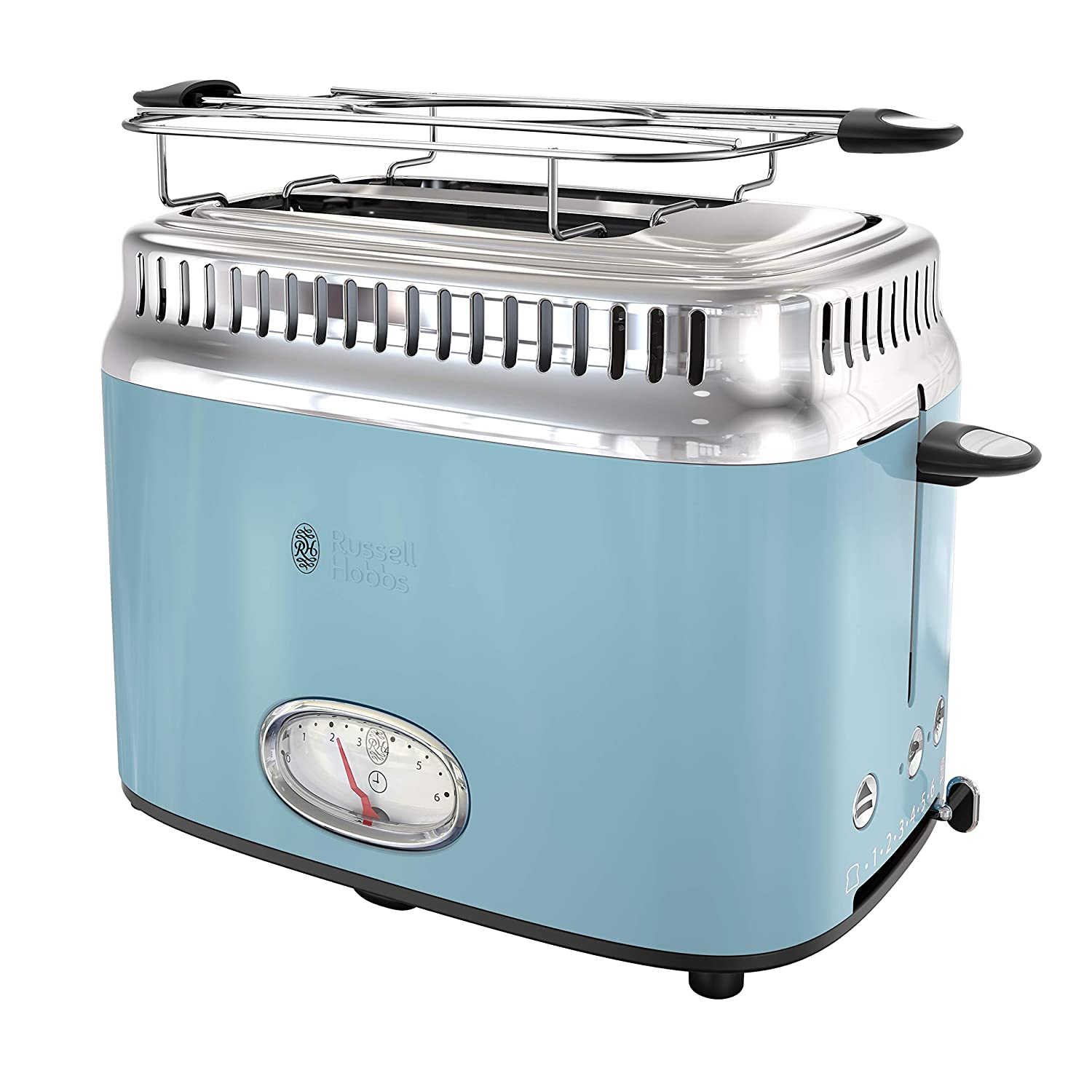 Russell Hobbs TR9150BLR Retro Style Toaster 2-Slice Blue
