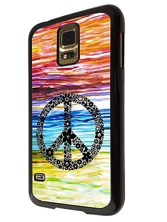 funda carcasa para samsung galaxy s5. diseño hippie