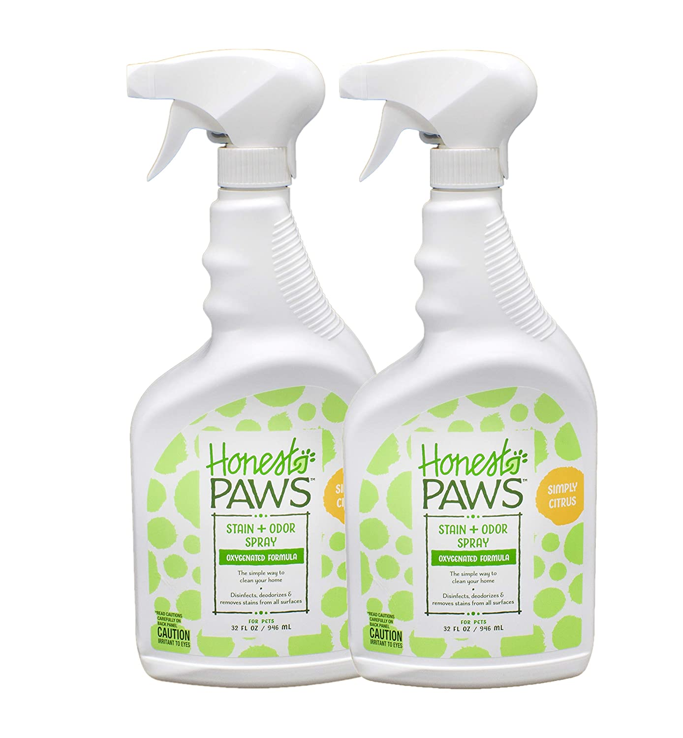 Honest Paws Carpet Cleaners And Stain And Odor Removers Non Toxic Pet Odor Eliminator Pack Of 2