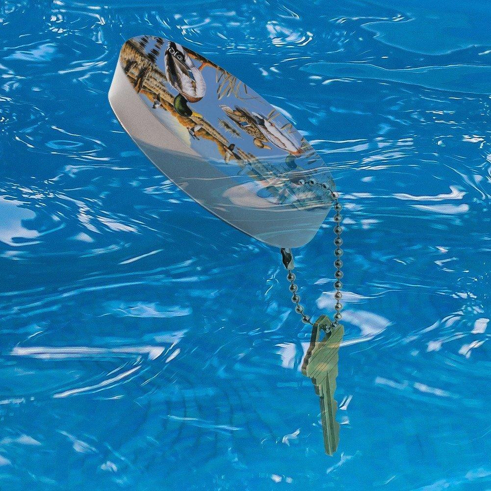 Amazon.com: Patos en el lago y en vuelo llavero barco de ...