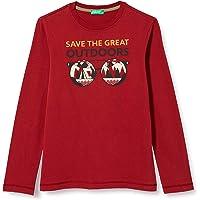 United Colors of Benetton T-Shirt M/L Camiseta para Niños