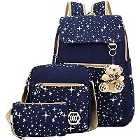 Futurekart Backpack Combo Of 1 Backpack, 1 Cross Body Bag & 1 Wallet - 3 in 1 set (Royal Blue)