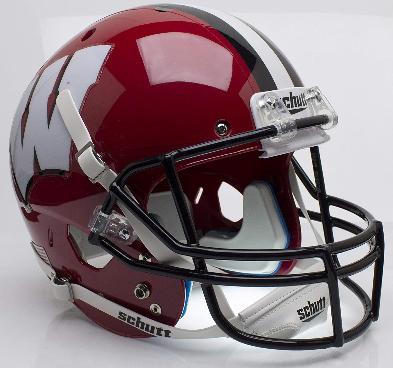 Schutt NCAA Wisconsin Badgers Replica XP Football Helmet Classic