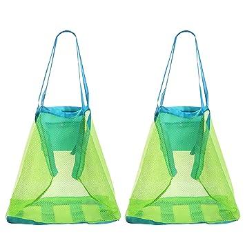 Amazon.com: biubee paquetes de playa Toy bolsa Bag- 2 ...