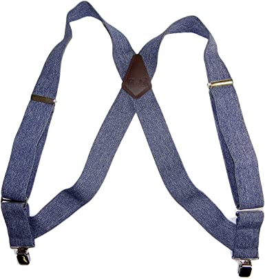 SuspenderStore Kids Dark Denim Suspenders