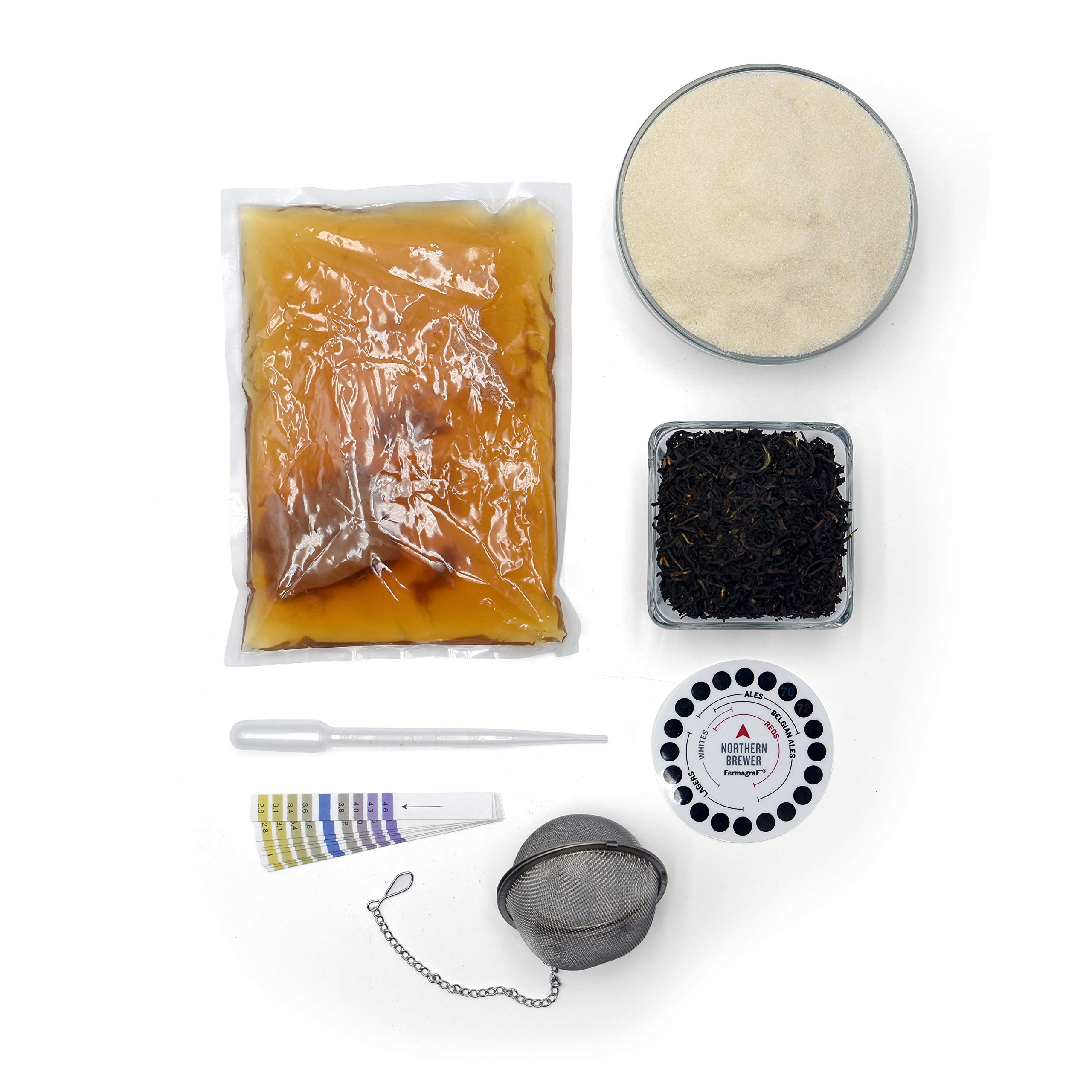 Northern Brewer - Kombucha Brewing Starter Kit With Scoby Included (3 Gallon Glass with Stainless Spigot) by Northern Brewer (Image #7)