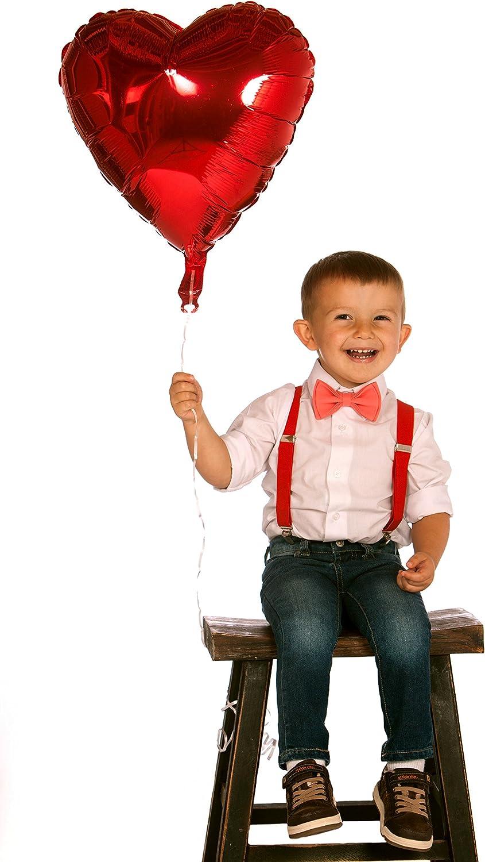boys childrens bow tie adjustable baby toddler solid black wedding valentines