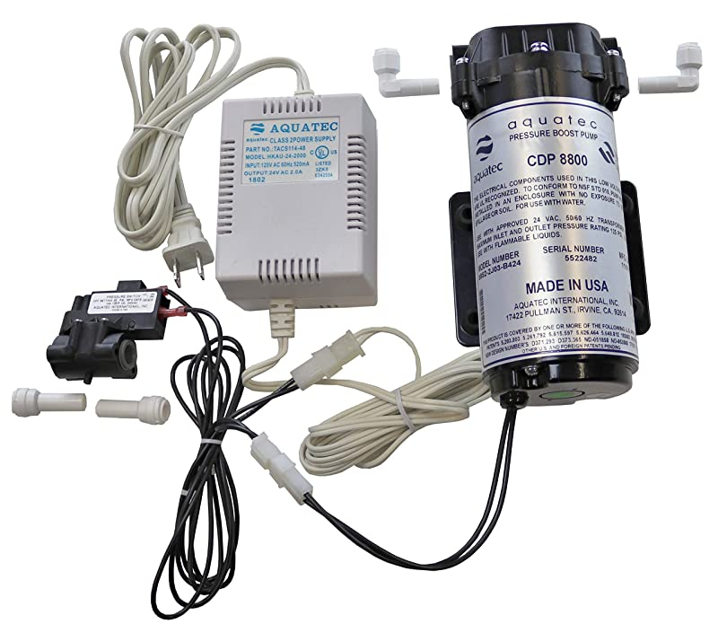 Aquatec 8800 RO Booster Pump Kit Reviews