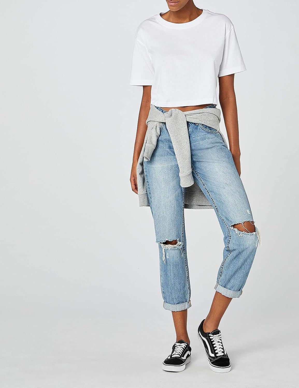 Urban Classics Ladies Short Oversized Tee T T-Shirt Femme