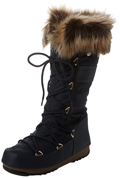 f236296930d8 Moon Boot Damen W.e. Monaco Wp Schneestiefel  Amazon.de  Schuhe ...