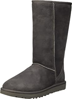 7dfc833f930 UGG Women's Abree II Leather Nero Boot 5 B (M): Amazon.co.uk: Shoes ...