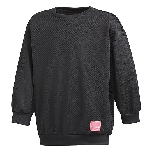 733f56c58580b Amazon.com: adidas Girls Originals EQT Crew Sweatshirt: Clothing